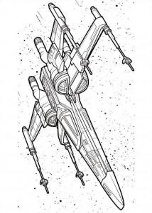 målarbok Star Wars The Force vaknar (9)