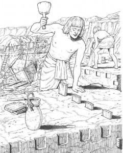 coloring page stonemasons