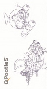 Dibujo para colorear Stella-OOpsy