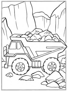 coloring page Stones