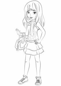stephanie coloring page