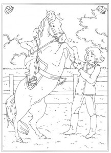 coloring page Rising