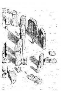 kleurplaat Stonehenge (deel 2)