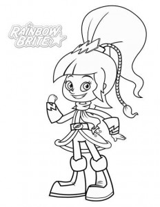 coloring page Stormy