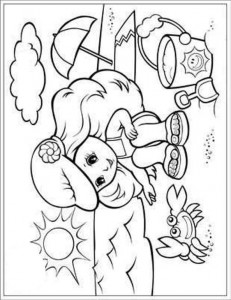 coloring page Strand (10)