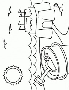 coloring page Strand (11)