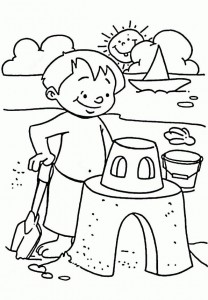 coloring page Strand (12)