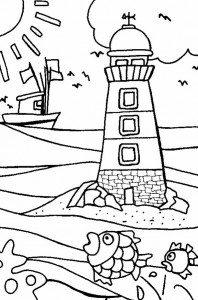 coloring page Strand (13)