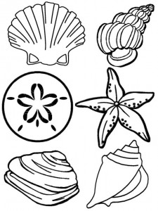coloring page Strand (16)
