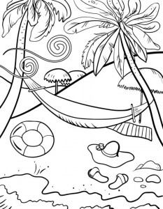 coloring page Strand (17)