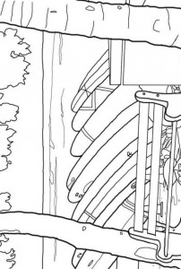coloring page Strand (2)