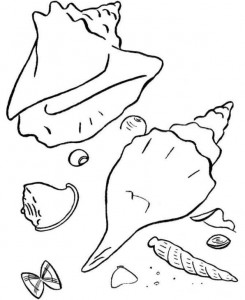 coloring page Strand (4)
