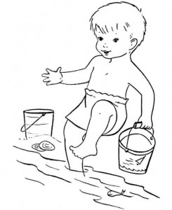 coloring page Strand (5)