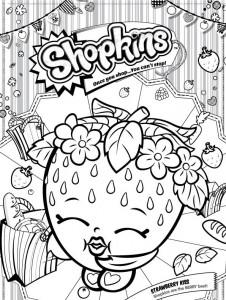 jordgubbkyss målarbok