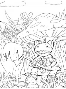 coloring page Stuart Little (13)