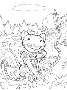 coloring page Stuart Little (3)