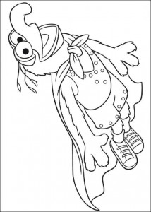 coloring page super gonzo (1)