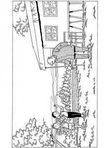 coloring page Suske og Wiske (12)