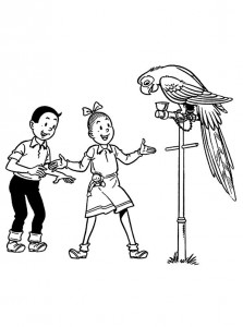 coloring page Suske and Wiske (13)