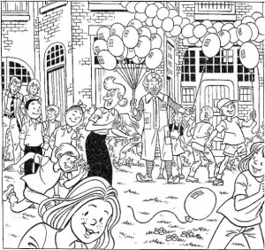 coloring page Suske and Wiske (14)