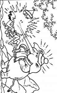 coloring page Suske and Wiske (15)