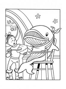 coloring page Suske og Wiske (16)