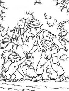 coloring page Suske og Wiske (19)