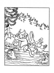 coloring page Suske and Wiske (21)