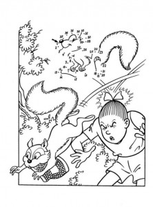 coloring page Suske and Wiske (22)