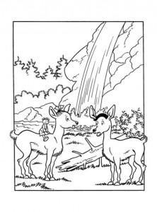 coloring page Suske og Wiske (23)