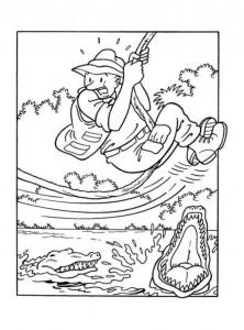 coloring page Suske og Wiske (26)