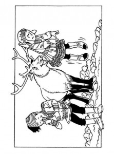 coloring page Suske and Wiske (31)