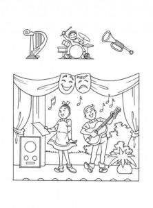 coloring page Suske og Wiske (32)