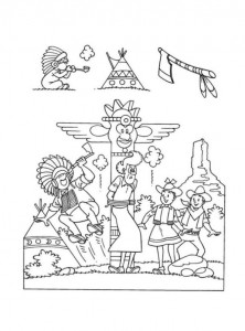 coloring page Suske and Wiske (33)