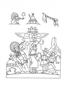 coloring page Suske og Wiske (33)