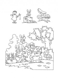 coloring page Suske and Wiske (34)
