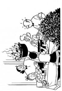 coloring page Suske og Wiske (5)