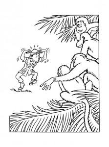 coloring page Suske og Wiske (7)
