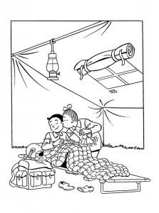 coloring page Suske and Wiske (8)