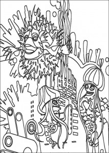 coloring page Sykes, Ernie and Bernie