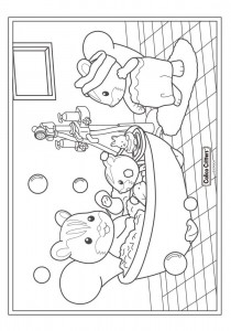 coloring page Sylvanian Families (10)