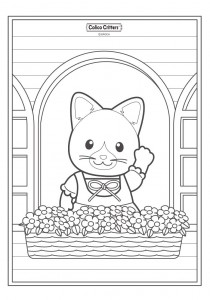 coloring page Sylvanian Families (11)