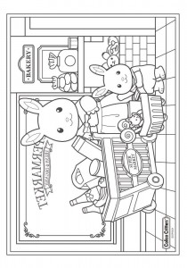 coloring page Sylvanian Families (12)