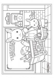 Dibujo para colorear Sylvanian Families (12)