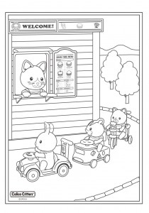 coloring page Sylvanian Families (13)
