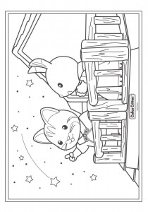 coloring page Sylvanian Families (14)