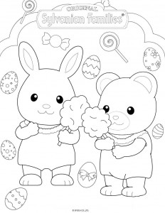 coloring page Sylvanian Families (16)
