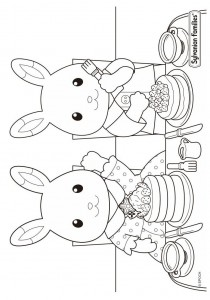 coloring page Sylvanian Families (5)