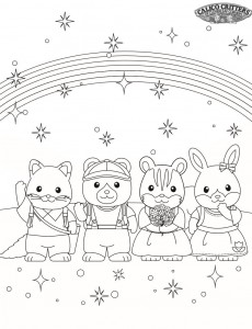 coloring page Sylvanian Families (8)