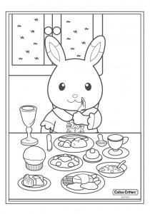 coloring page Sylvanian Families (9)